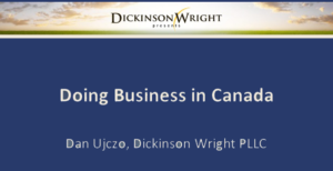 Hesse - Doing Business in Canada