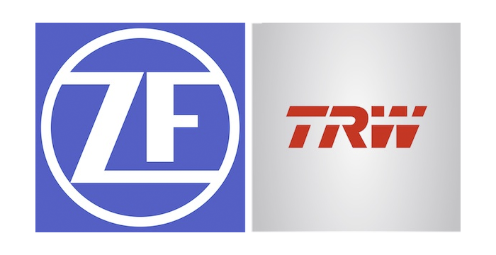 TRW Vehicle Safety Systems logo