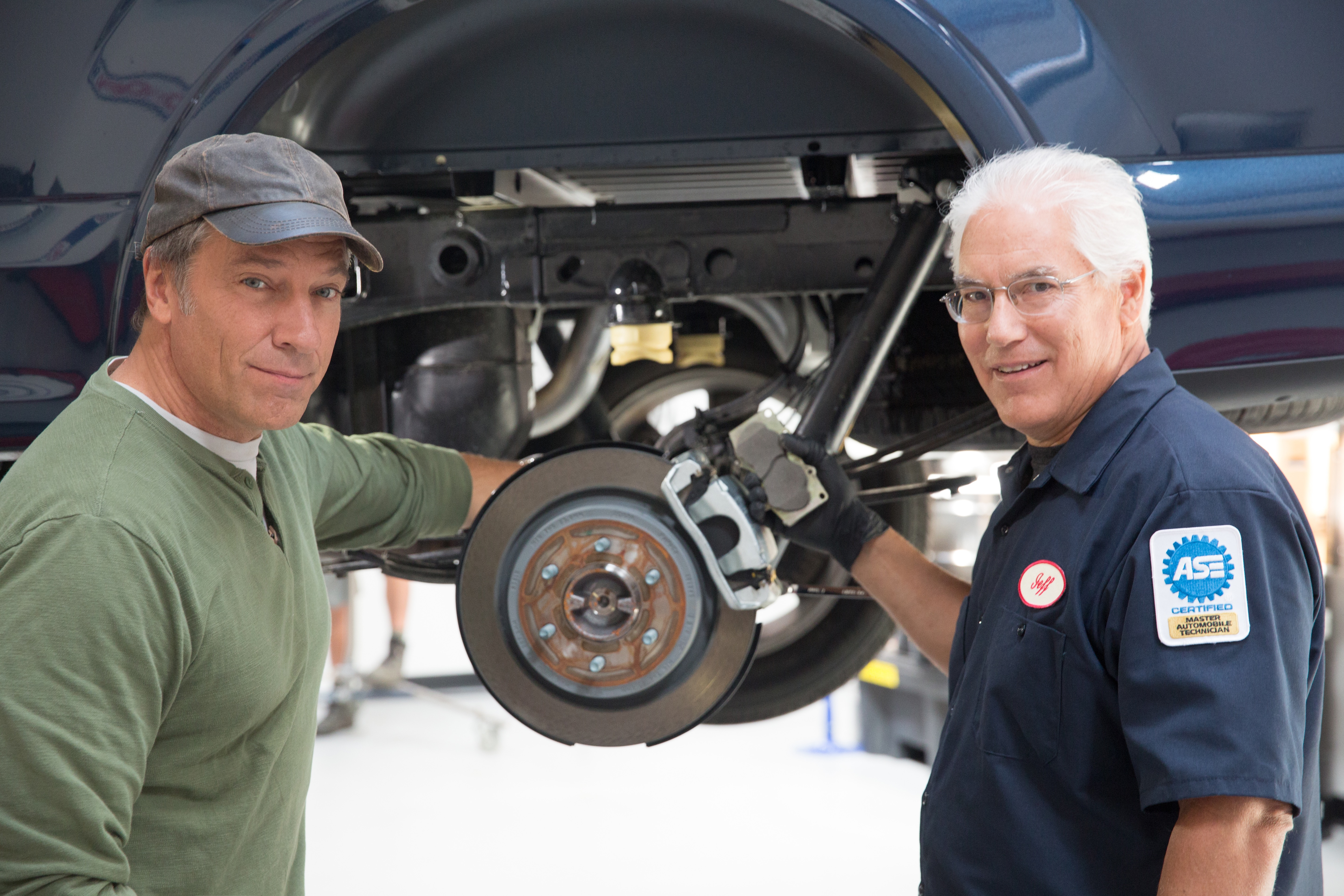 Mike Rowe To Support Launch Of Wagner OEX Brake Pads