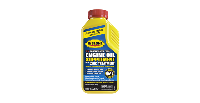 Rislone Introduces 3X Concentrated Engine Oil Supplement