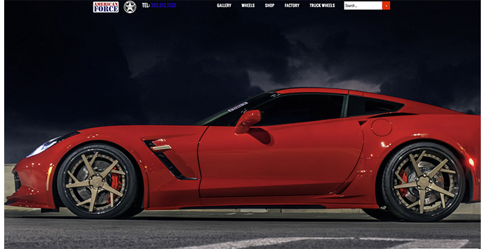 American Force Wheels Launches New Muscle Market Focused Website