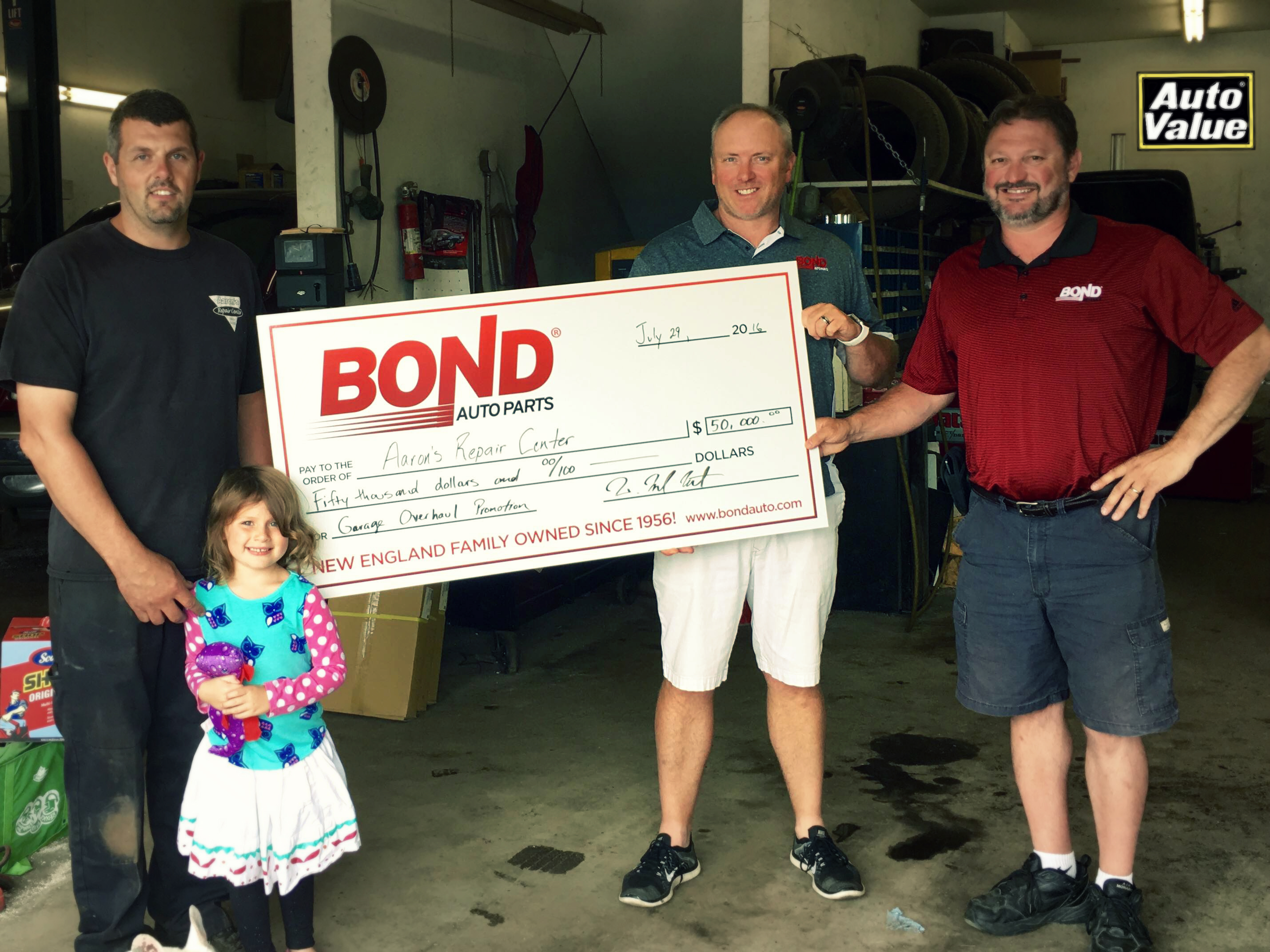 Aaron'S Auto Parts >> Aaron S Repair Center Wins A 50 000 Shop Makeover In The