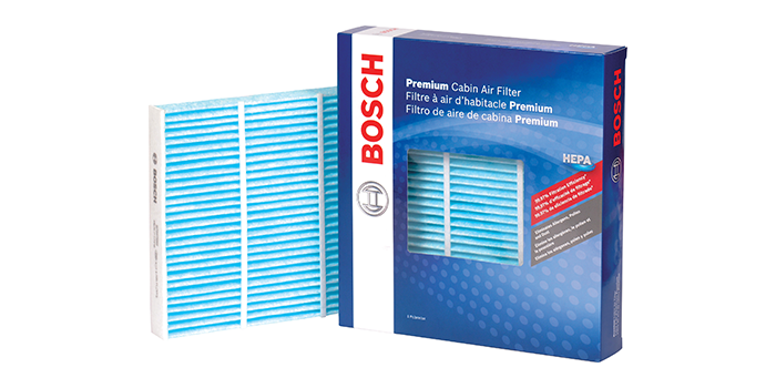 Bosch Introduces New Hepa Premium Cabin Air Filter Line For Passenger Vehicle Applications