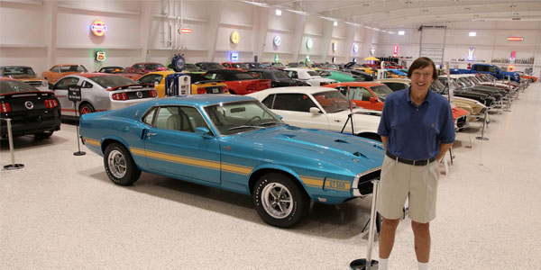 American Muscle Car Museum Selects Ctek As Official Charger Maintainer