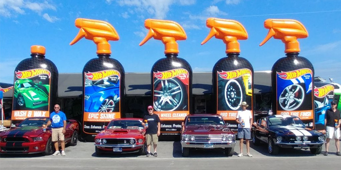 Hot Wheels Car Care Products Presenting Sponsor Of The Syracuse