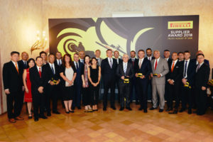Pirelli recently honored its top suppliers at an award ceremony in Milan.