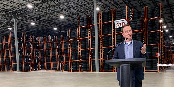 Atd Celebrates Grand Opening Of Poconos Mixing Warehouse