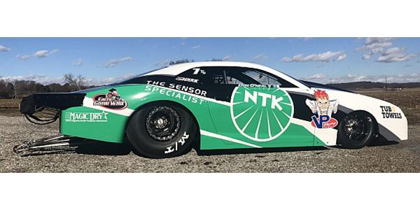 NHRA Top Sportsman Don O'Neal Unveils New NGK/NTK Sponsored Car