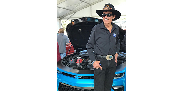 Richard Petty proudly unveils his dream creation that was funded and directed by OKI Data Americas and a team of industry experts with auction proceeds benefitting Victory Junction, an 84-acre camp dedicated to enriching the lives of children with serious medical conditions.
