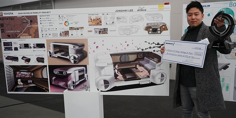 Mobility In 2050 Winning Designs From Detroit S College For Creative Studies Competition