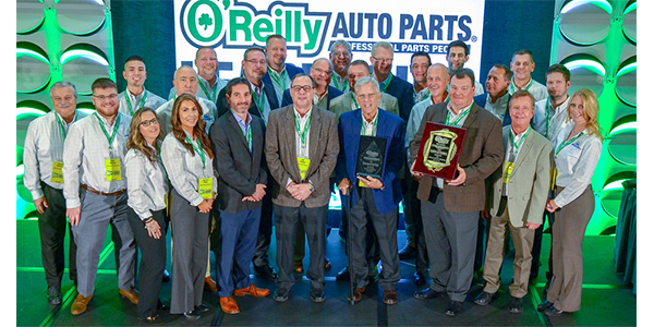 Standard Motor Products was named 2018 Supplier of the Year by O'Reilly Auto Parts. SMP was presented with the prestigious award during last week's O'Reilly Leadership Conference in Dallas, Texas.