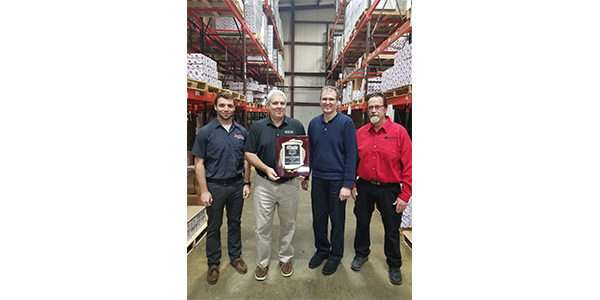Melling Engine Parts, Jackson, MI, received the Content & Omni-Channel award from O'Reilly Auto Parts during their 2019 Leadership Conference held January 9 - 12 in Dallas, Texas. elling catalog & content team pictured from left to right: Colin Cook, Paul Hollstein, Jeff Schaerer, Darrell Wilson.