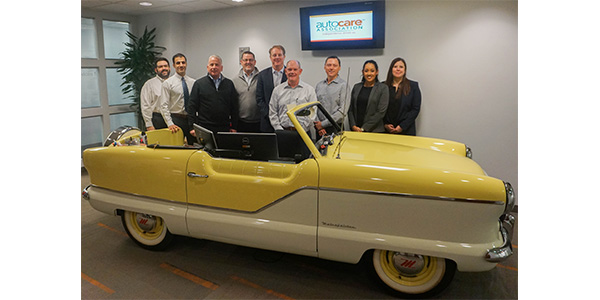 Representatives from Babcox Media recently met with the Auto Care Association in Bethesda, Maryland, to discuss industry topics.