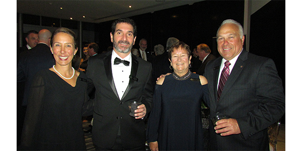 Leah and Eric Sills, CEO of SMP, enjoy cocktails with Shirley and Ken Wendling, SMP's VP of Sales during the NPW dinner.