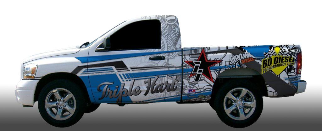 Lavon Miller's Firepunk Diesel Truck Gets A New Owner In