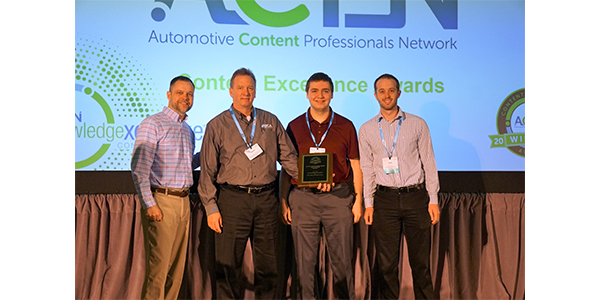 At the 2019 Knowledge Exchange Conference in Tampa, Florida, NTN Bearing Corp. won a bronze award in the Web-Based Catalog category.