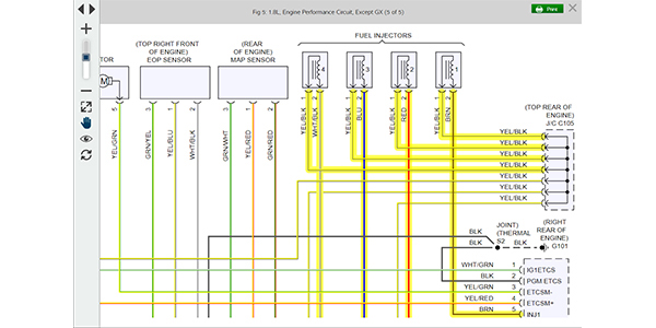 prodemand mitchell 1 enhances wiring diagrams