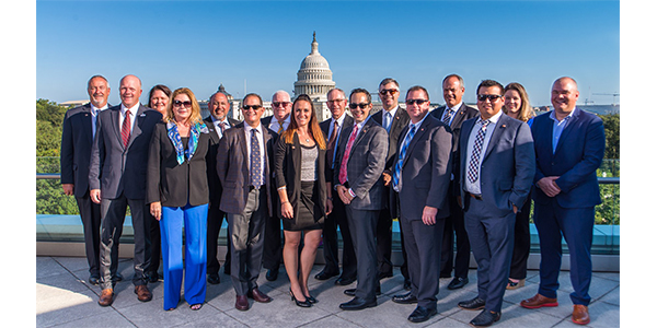 Attendees of the Auto Care Association's recent Legislative Sumimit gather for a group shot.
