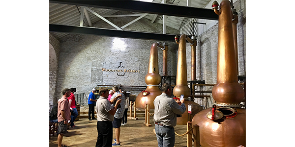 Auto Value and Bumper to Bumper's Service Center Advisory Council toured Woodford Reserve during its 2019 Fall Meeting in Lexington, Ky.