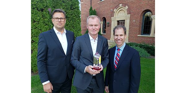 Renesas was named one of two Suppliers of the Year for Stoneridge.