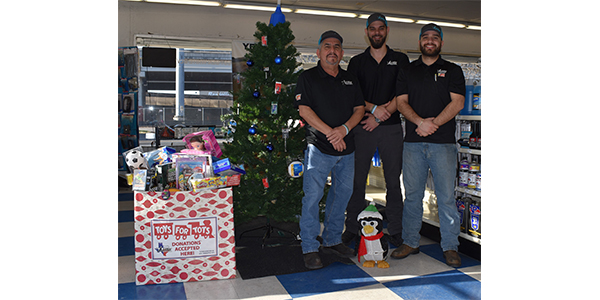 Arnold Oil is another Federated member taking part in Toys for Tots this year. Since partnering with the U.S. Marine Corps Reserve Toys for Tots Program in 2012, Federated, its members and vendor partners have helped raised over $2.5 million for Toys and Tots.