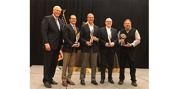 AWDA's 2019 award recipients.