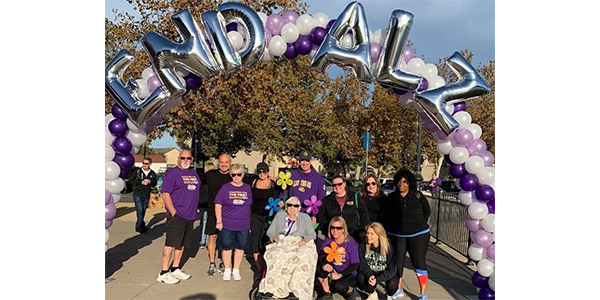 """On a beautiful morning in Solano County, California, employees, family and friends of Federated member Vaca Valley Auto Parts participated in the annual """"Walk to End Alzheimer's."""" The Solano County walk raised over $130,000 for Alzheimer's research, with $3,100 coming from the Vaca Valley group."""
