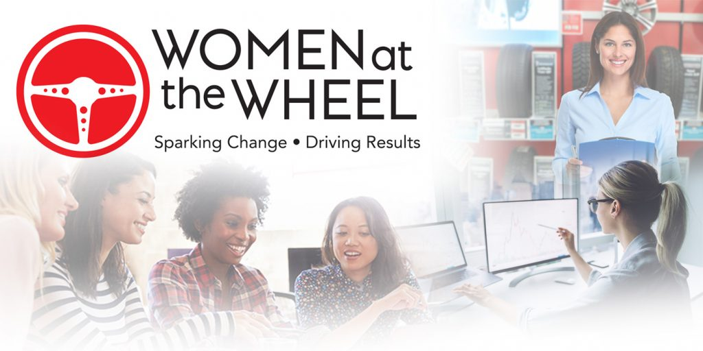 Women at the Wheel