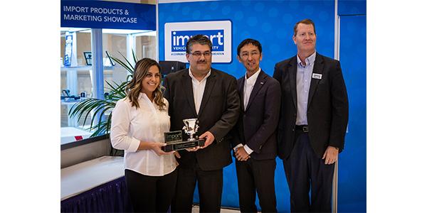 Import Vehicle Award recipients.