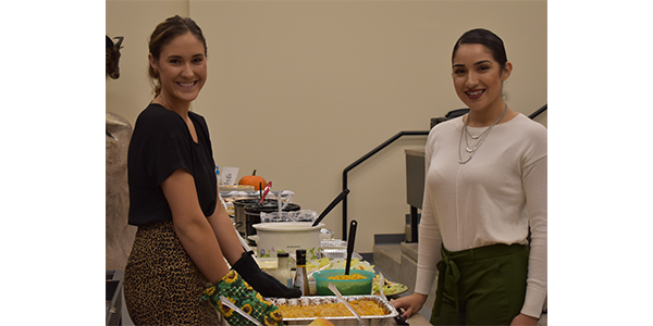 The Thanksgiving lunch was one of the many celebrations Arnold Oil conducts for its employees throughout the year.