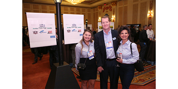 DMA Sales enjoys the networking at AAPEX.