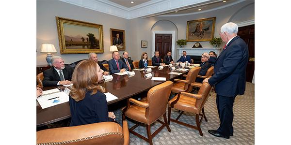 MEMA associates met with VP Mike Pence this week in DC.