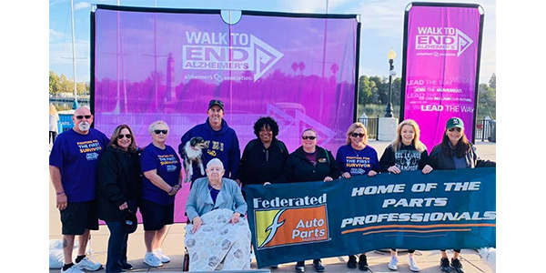 """""""We walk in honor of our own Evelyn Martin, as well as all our loved ones, family and friends affected by this horrible disease,"""" said Traci Taylor, sales manager for Vaca Valley. """"Evelyn enjoyed the day and received a Grand Champion medal for continuing to fight her fight with Alzheimer's. We had a goal of raising $2,000 and raised over $3,000. We want to thank everyone who walked and also financially supported this great cause."""""""