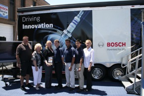 Bosch S Driving Innovation Road Tour Named Best Exhibit At O